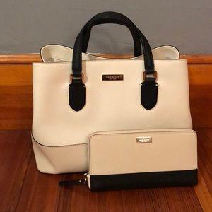 Kate Spade Bag and Matching Wallet